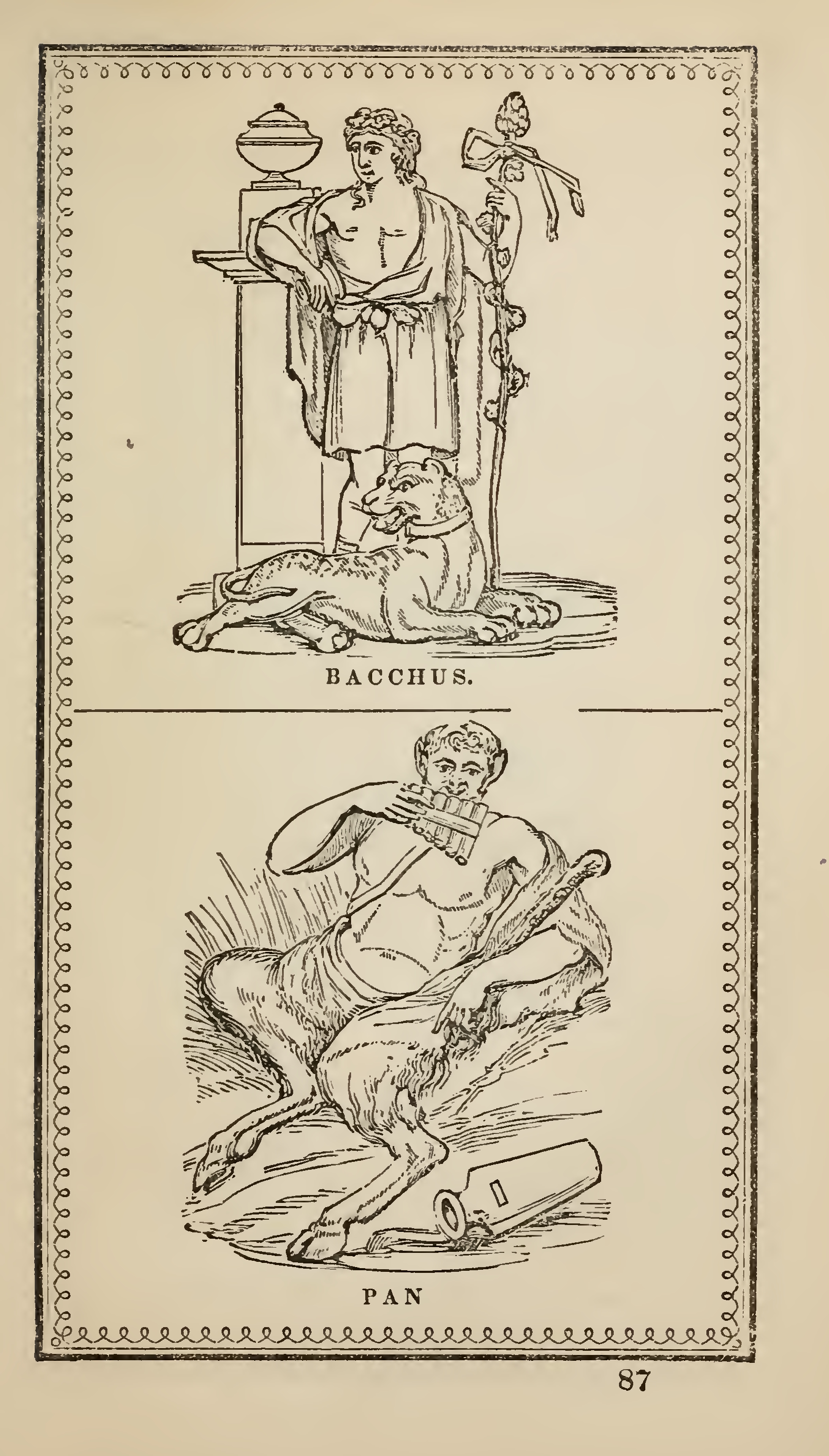 elements of mythology or classical fables of the greeks and the