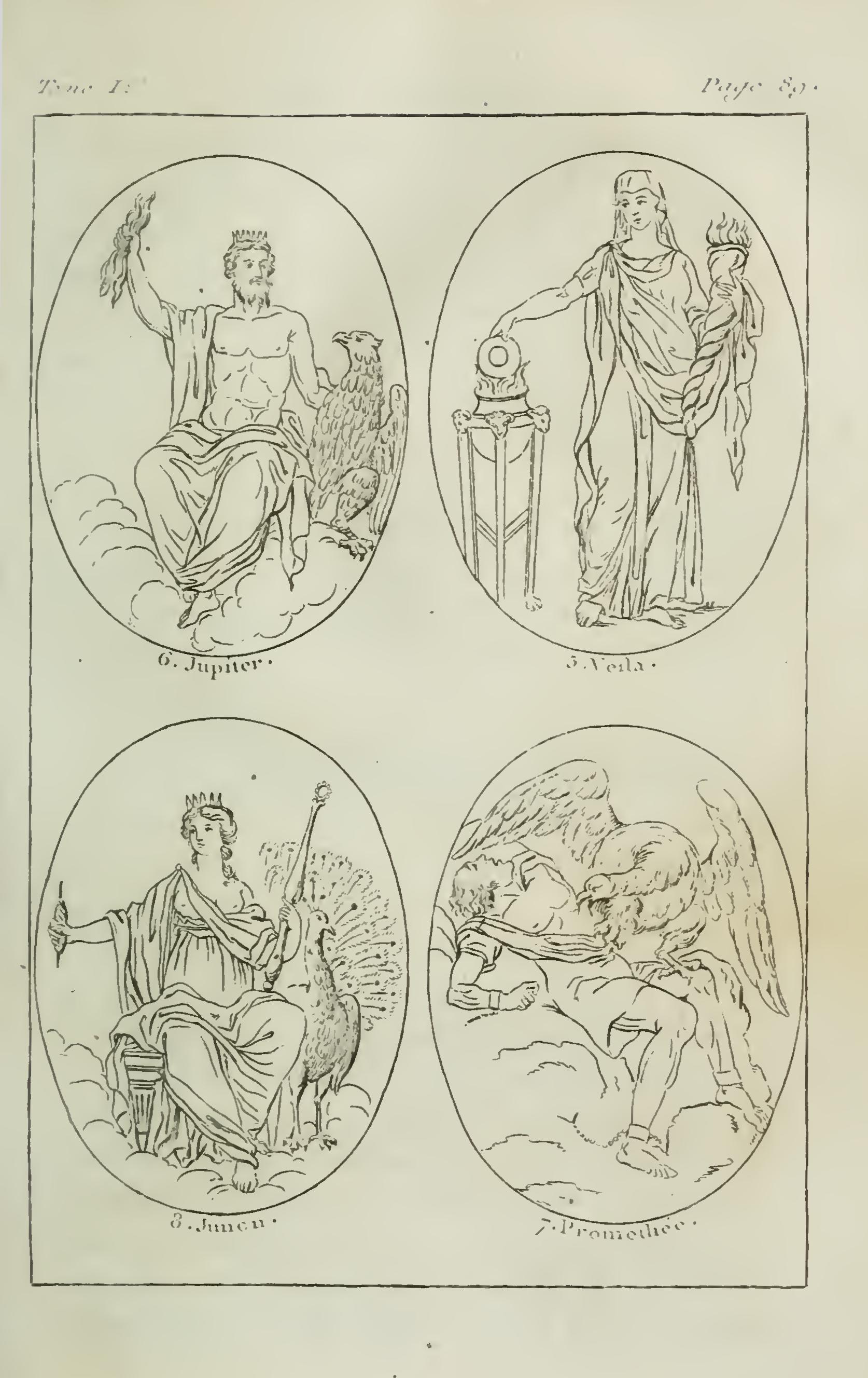 déesse mnemosyne mythologie